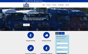 webdesign customer liquid gas